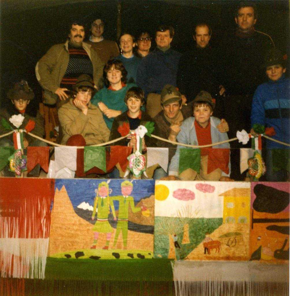 1984: Alpini in maschera